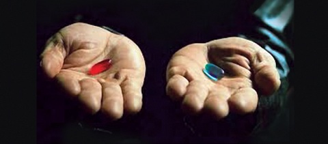 Red Pill Blue Pill front web